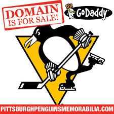 PITTSBURGH PENGUINS MEMORABILIA .COM - Hockey - Store - Domain Name - GoDaddy