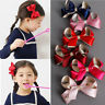 1Pc Hair Clip For Girls Kids Handmade Bow Knot Lovely Children Hair Accessories