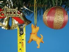 Hood Hounds Killer Chihuahua Dog Decoration Xmas Tree Ornament Home Decor K1285F