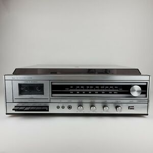 Vintage Sears AM/FM Stereo System Cassette Recorder & Turn Table Record Player 3