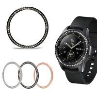 Smart Watch Diamond Metal Bezel Ring Cover For Samsung Galaxy Watch 42mm 46mm HQ