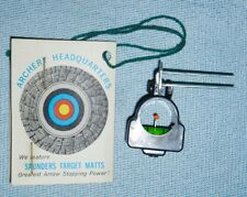 """NEW Vintage Replacement """"SIGHT 'N LEVEL"""" by SAUNDERS for Classic Target Archery"""