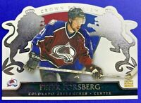 2003 Pacific Crown Royale DieCut #23 Peter Forsberg Colorado Avalanche