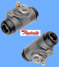 Set (2) Rear Drum Brake Wheel Cylinders RAYBESTOS Replace OEM# W34876 Expedited