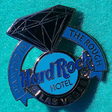 LAS VEGAS HOTEL STAFF MANAGER AWARD BLUE DIAMOND IN THE ROUGH Hard Rock Cafe PIN