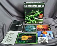 Solider Of Fortune Original PC Big Box Game Raven Activision - Extremely Rare