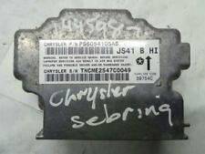 Chrysler Sebring 2007 / 2009 SRS Control Module ECU P56054105AB WARRANTY 1243319
