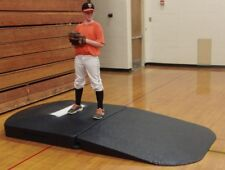 Portolite Indoor Full Wind-Up Portable Baseball Pitching Mound, Black. Osm-2275