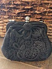 Brighton NWT Catch The Moon Masterpiece Leather Pursette Purse/ Handbag Rare