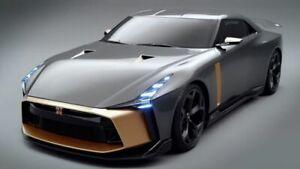NISSAN GT-R 50 by Italdesign Liquid Kinetic grey 2018 1:18th GT SPIRIT GTS 300