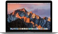 "MacBook Core M3 1.2GHz 12"" (Mid 2017) 8GB RAM 256GB SSD (Space Gray) MNYF2LL/A"