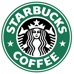 Starbucks Coffee Sticker Vinyl Decal 4-115