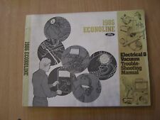 FORD Econoline 1986 wiring diagram Electrical Manual schemi manuale