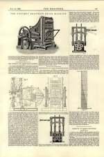 1892 Kennedy Dry Press Brick Machine Nettlefold Jones Hydraulic Valve