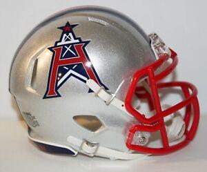 XFL Houston Roughnecks Custom Riddell Mini Helmet