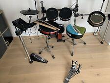 Gebrauchtes Alesis Crimson 2 Mesh Kit E-Schlagzeug E-Drums mit Zubehör