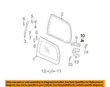 KIA OEM 02-05 Sedona Side Panel-Hinge Screw K998320410B
