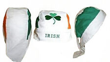 Ireland Irish Shamrock St Pattys Clover Leaf Do Rag Doo Rag Skull Cap Head Wrap