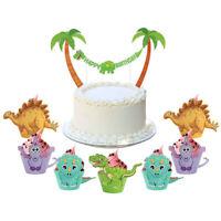 Dinosaur Cupcake Wrapper Cartoon Dinosaur Party Favor Kids Birthday Party Decor