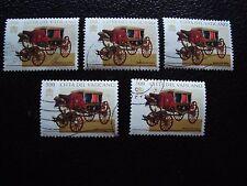 VATICANO - sello yvert y tellier nº 1061 x5 matasellados (A28) stamp (Z)