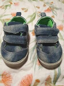 Pumpkin patch demin baby boy sneaker shoes 4