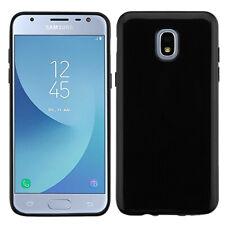 Samsung GALAXY J3 Star 2018 TPU Silicone Rubber Thin Protective Case Cover Black