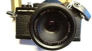 Spiegelreflexkamera Porst compact-reflex mit Objektiv