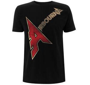 Airbourne A Logo Shirt S-XXL Official Hard Rock Heavy Metal Band Tshirt Merch