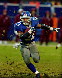 TIKI BARBER 8X10 PHOTO NEW YORK GIANTS NY PICTURE NFL FOOTBALL