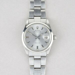 ROLEX OYSTER PERPETUAL AIR-KING DATE WATCH W/ GUARANTEE PAPERS REF. 5700 1970S