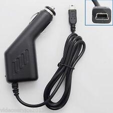 CARICABATTERIE AUTO  Mini USB  PER NAVIGATORI GPS TOMTOM  / GARMIN ecc 12-24v 1A