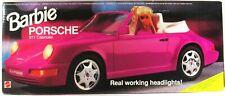 Barbie Pink Porsche 911 Cabriolet Car (NEW)