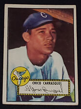 1952 TOPPS CHICO CARRASQUEL CHICAGO WHITE SOX - MLB BASEBALL CARD #251 -ORIGINAL