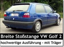 Breite Stoßstange für hinten VW Golf 2 II VERSION GL GTI G60 mit Träger Neu