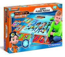Clementoni GIANT ELECTRONIC FLOOR GAME Interactive Puzzle MAT RUSTY RIVETS