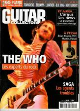 """GUITAR COLLECTOR #49 """"The Who,Townsend,Lukather,Bellamy,BB King"""" (REVUE)"""