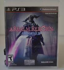 PlayStation 3, A Realm Reborn, Final Fantasy XIV, PlayStation Network