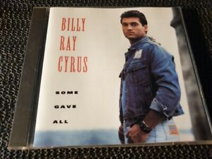 Billy Ray Cyrus - Some Gave All - 1992 Mercury CD - Aus press rock pop country