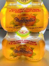 Martinelli's Gold Medal 100% Apple Juice 10 Fl. oz TIKTOK 8 Pack *In Hand NOW*