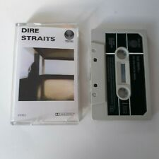 DIRE STRAITS S/T SELF TITLED 1ST ALBUM CASSETTE TAPE 1978 PAPER LABEL VERTIGO UK