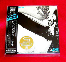 Led Zeppelin 1 SHM MINI LP CD JAPAN WPCR-13130 Led Zeppelin I