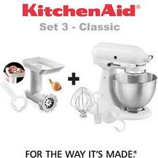 Kitchenaid Classic 5k45ss ewh + Picadora 5FGA