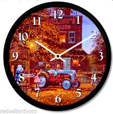 New FORD Model 8N Tractor Wall Clock DAVE BARNHOUSE 'Ready or Not' Pink Dress