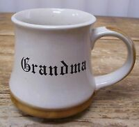 Grandma Grandmother Coffee Mug Cup Brown Vintage