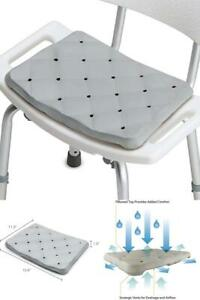 DMI Waterproof Foam Cushion for Bath Seats, Transfer Benches, Shower Chairs, Kne