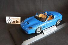 Bburago built transkit Ferrari 550 Maranello Barchetta Targa 1:18 blue (PJBB)