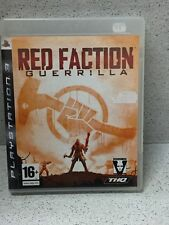RED FACTION GUERRILLA  JEUX PS3 AVEC NOTICE PLAYSTATION