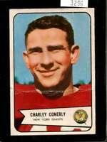 1954 BOWMAN #113 CHARLEY CONERLY POOR NY GIANTS  *X3296