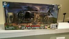 1:18 POWER TEAM ELITE AIR SEA PATROL COMBAT HELICOPTOR PEACEKEEPERS W FIGURES 21