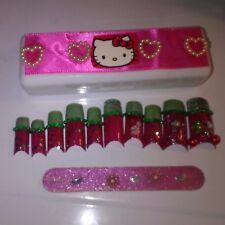 Hello Kitty Nails with FREE box